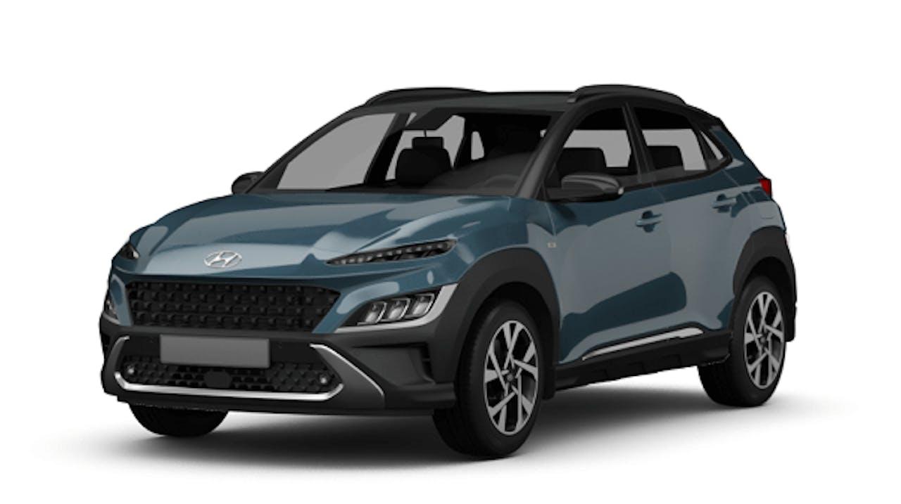 Hyundai Kona in Blau
