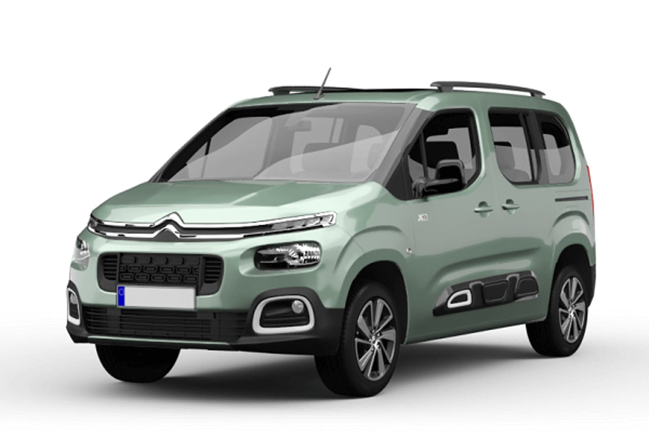 Citroen Berlingo in Mintgrün