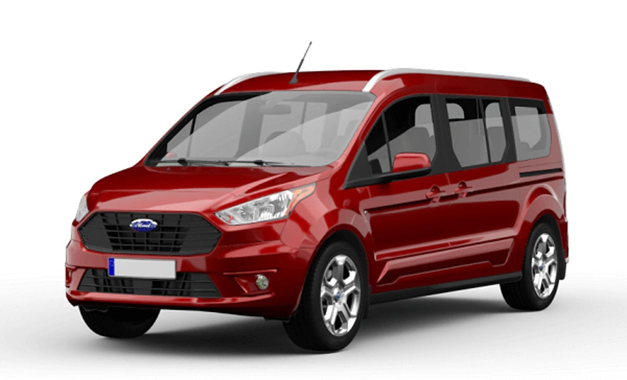 Ford Grand Tourneo Connect in Rot