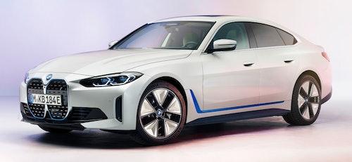 BMW: i4 schräg von vorne