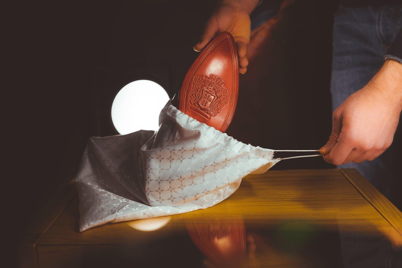 Leather shoe care -  dust bag Melvin & Hamilton