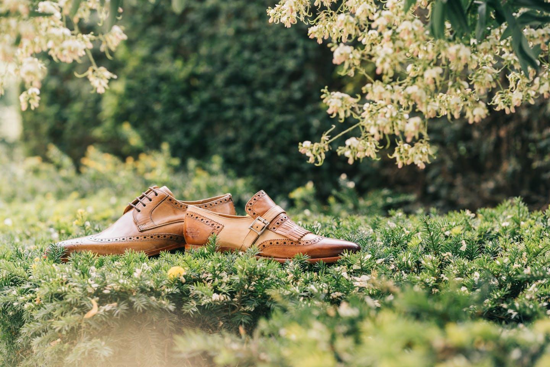 Lewis 3 Herren Derby Schuhe und Selina 2 Damen Monk Schuhe