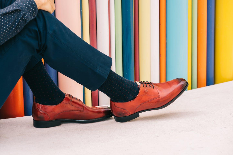 Herren Derby Schuhe Elyas 4 Melvin & Hamilton