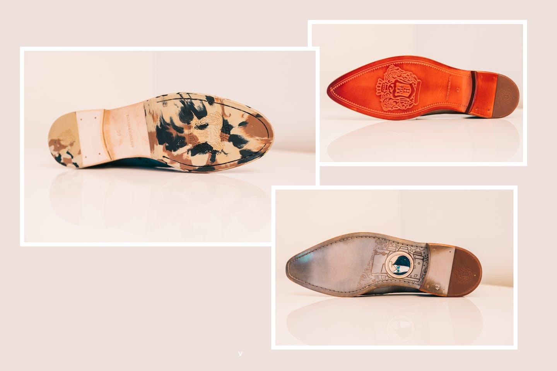 Leather soles Melvin & Hamilton