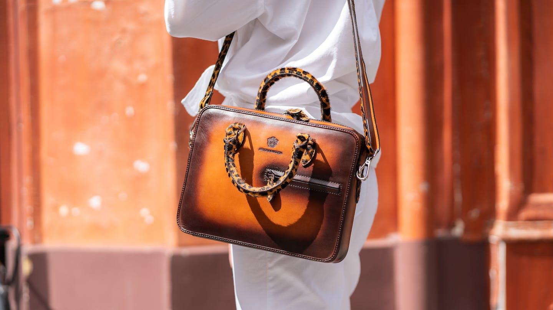 Leather bags Melvin & Hamilton