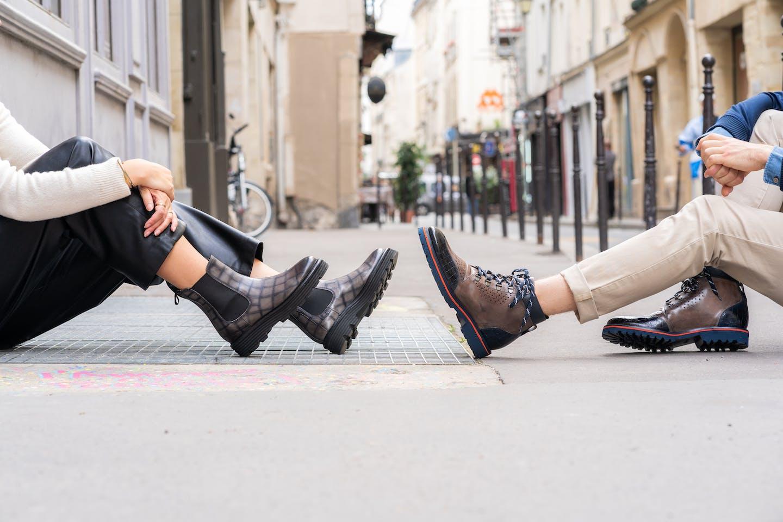 Chaussures plateforme Melvin & Hamilton