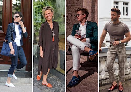 Bloggers wearing Melvin & Hamilton shoes