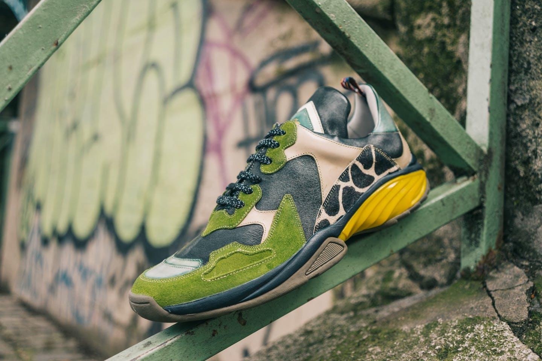 Green sneakers Kobe - Melvin & Hamilton