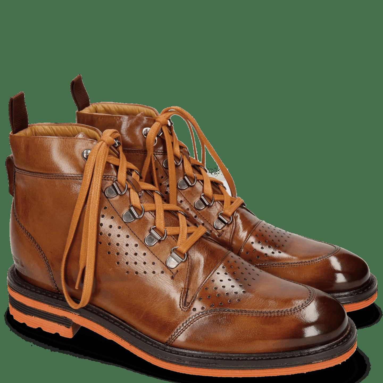 Men's ankle boots Trevor 5 wearlight rubber sole - Melvin & Hamilton