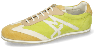 Pearl 4 Chrome Suede Yellow Cream New Grass