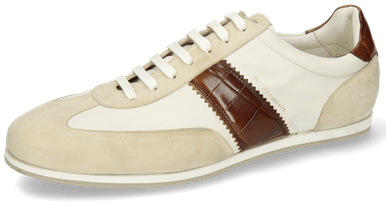 Pharell 12 Suede Ivory Nappa White Turtle Mid Brown