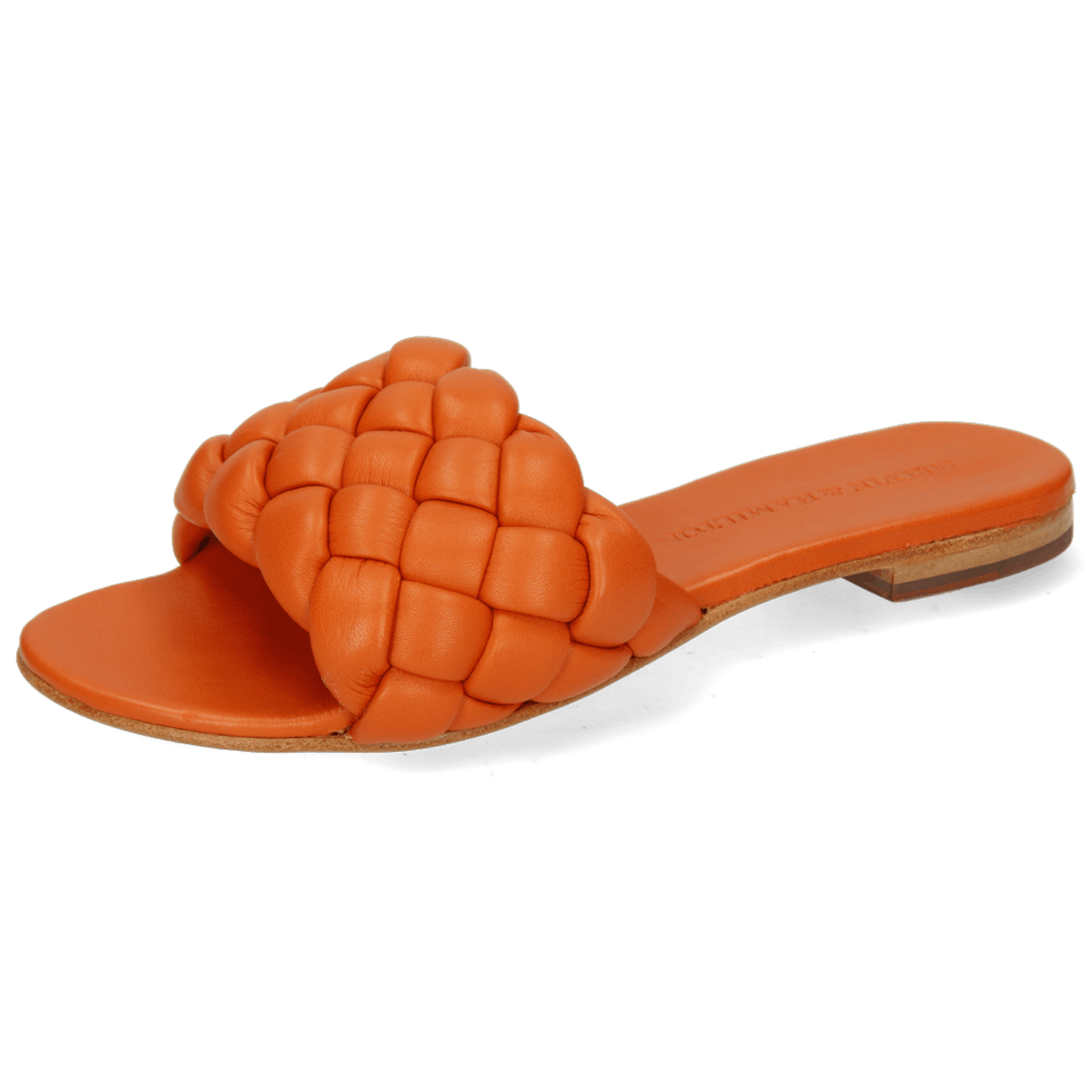 Hanna 78 Nappa Orange Footbed