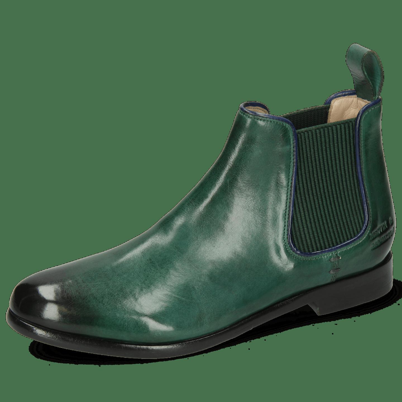 Selina 48 Imola Dark Green Binding Navy