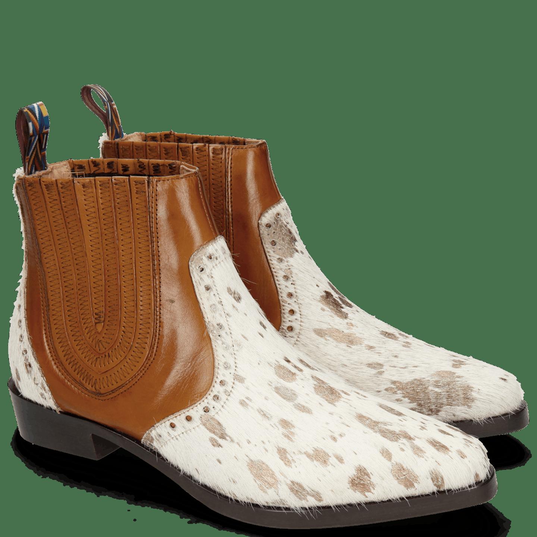 Marlin 3 Hairon Jersey Metallic Brown White Wood