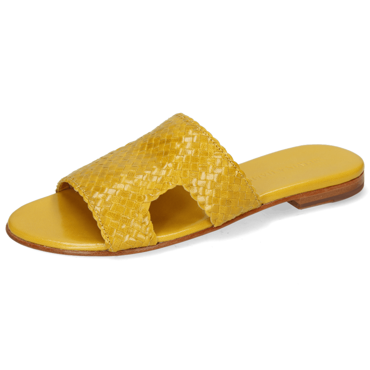 Hanna 74 Woven Yellow Socks Foam