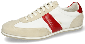 Pharell 12 Suede Ivory Nappa White Turtle Red