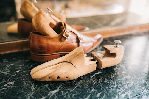 Cedar wood shoe trees Melvin & Hamilton