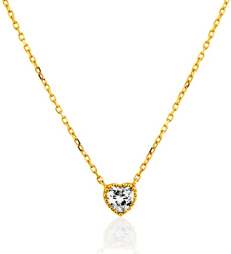 Collier JULIETTE en Or 375/1000 Jaune et Oxyde