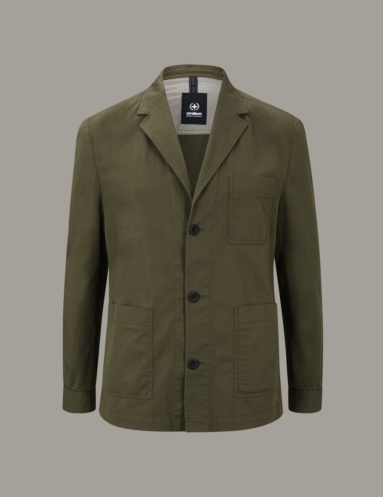 Veste chemise modulaire Davin, vert olive