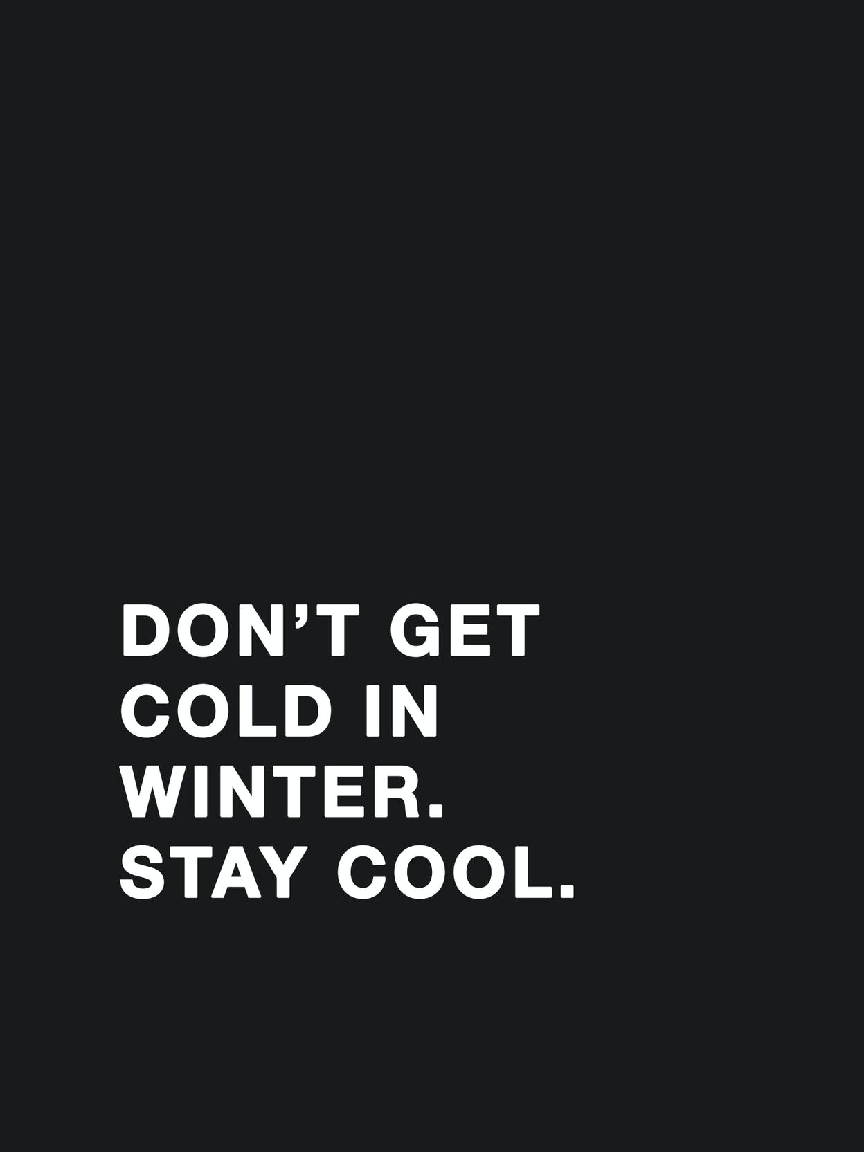 text-winter-stay-cool