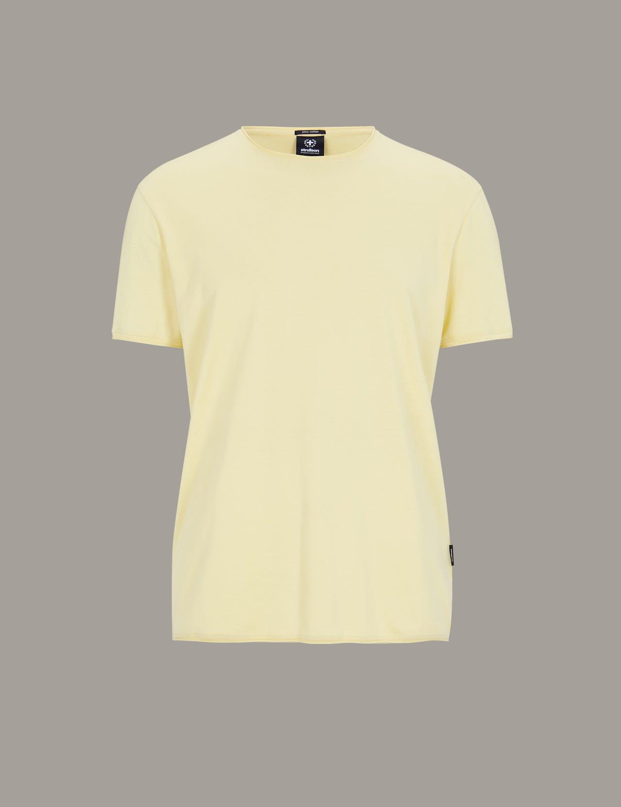 T-shirt Tyler, en jaune