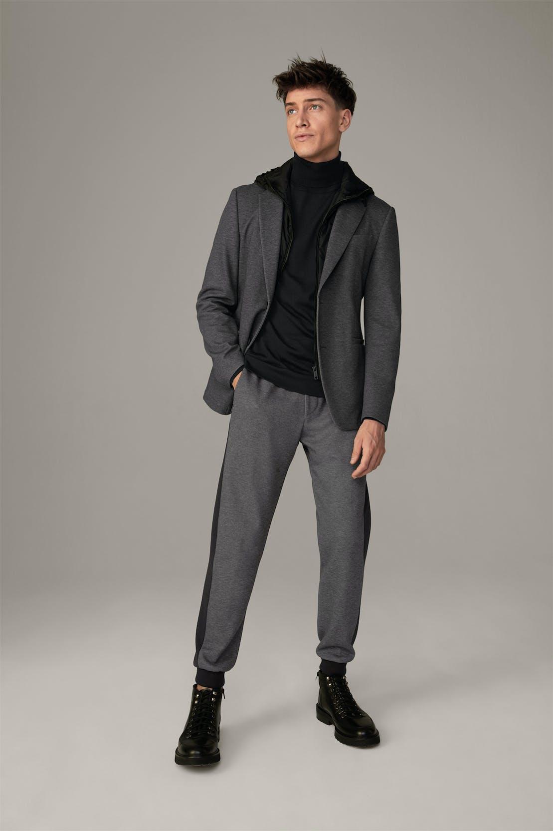 Flex Cross Jersey-Jacke Darron, medium grau meliert