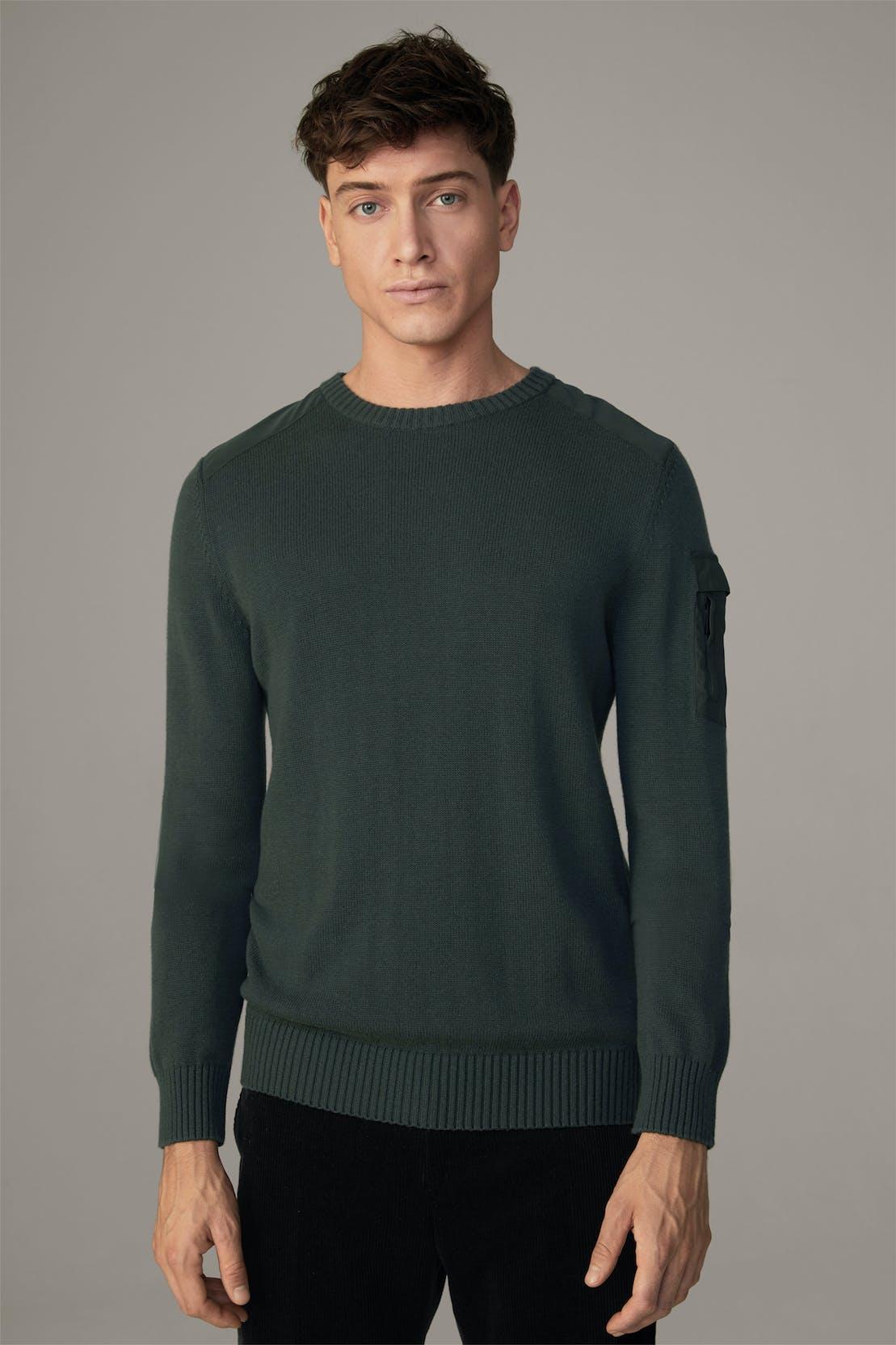 Flex Cross Pullover Tadeo, grün