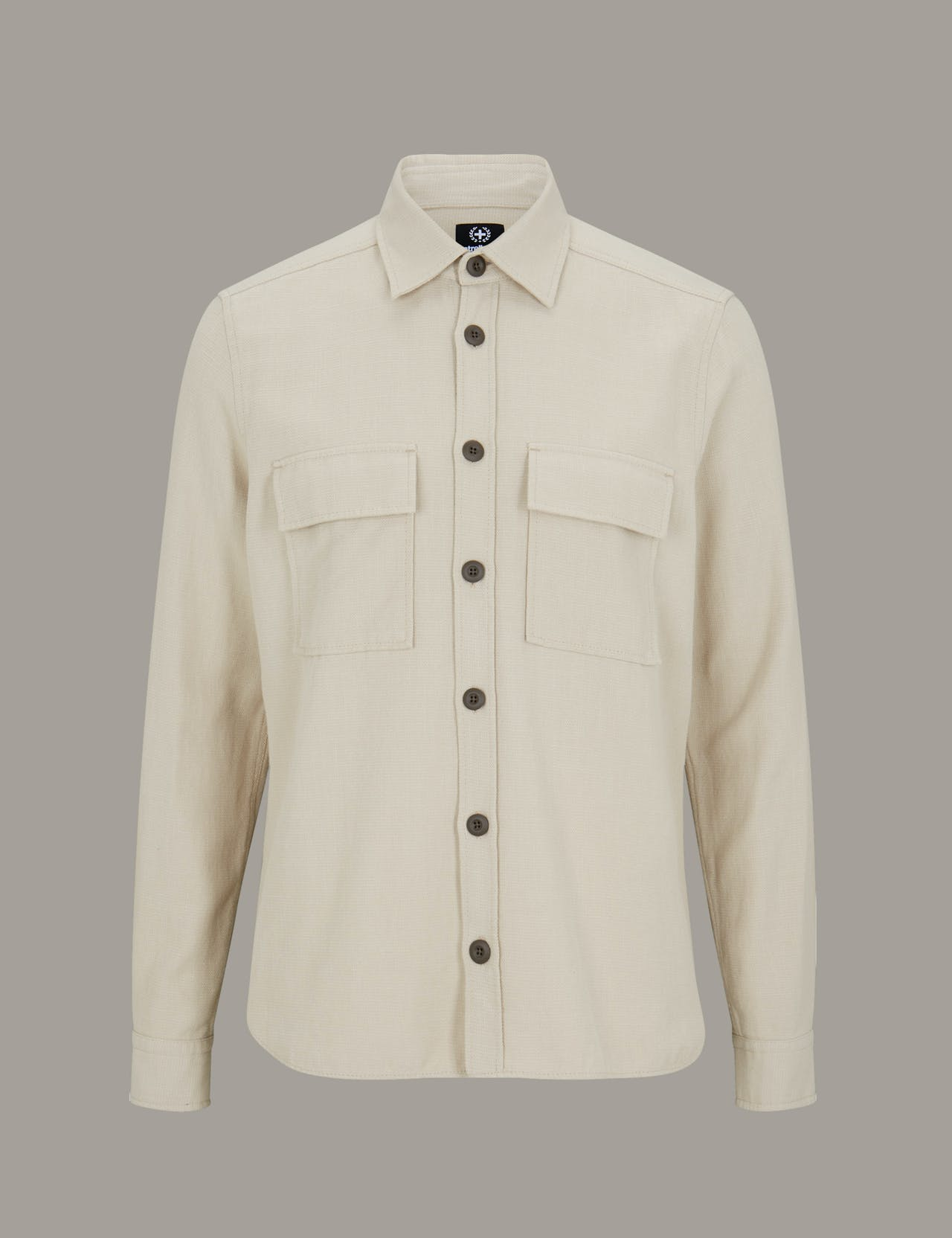 Chemise Norman, beige clair