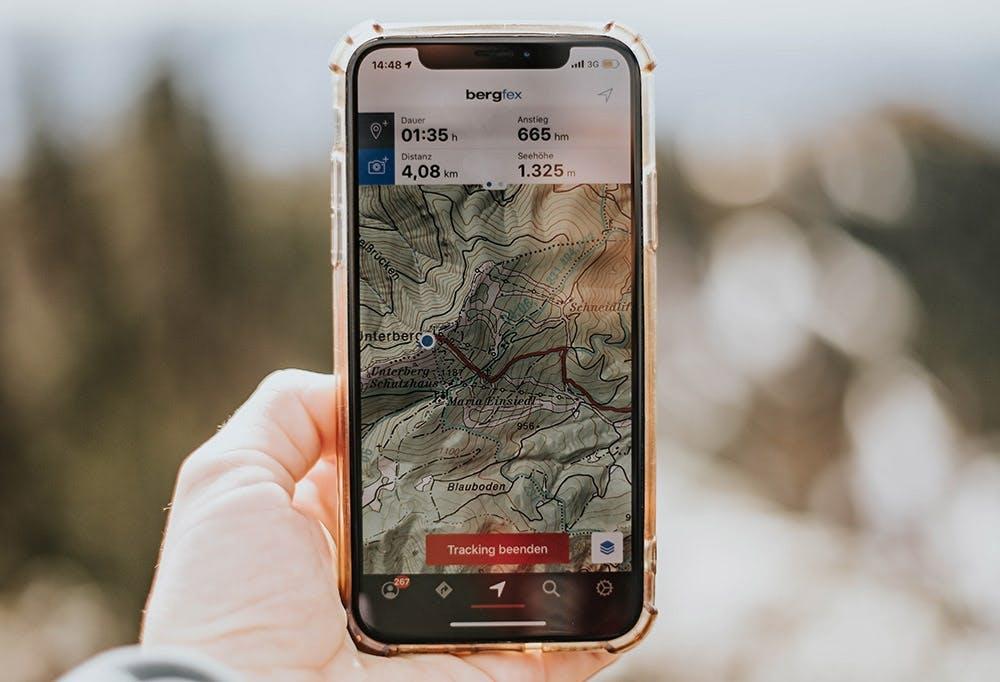 Höhenmeter tracken mit der App