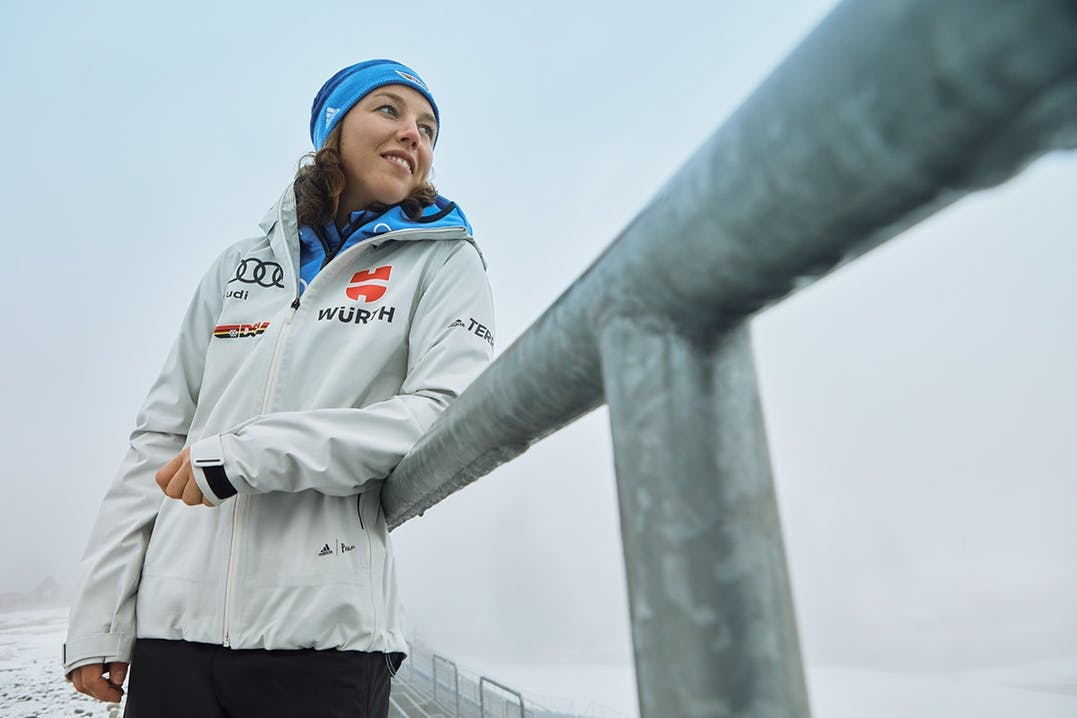 Laura Dahlmeier Biathletin Interview