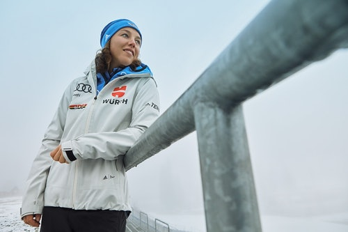 Laura Dahlmeier Biathletin Interview
