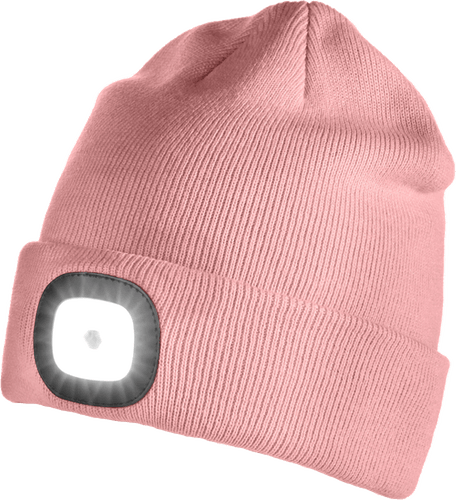 Iceport LED Beanie Lighty - Rose