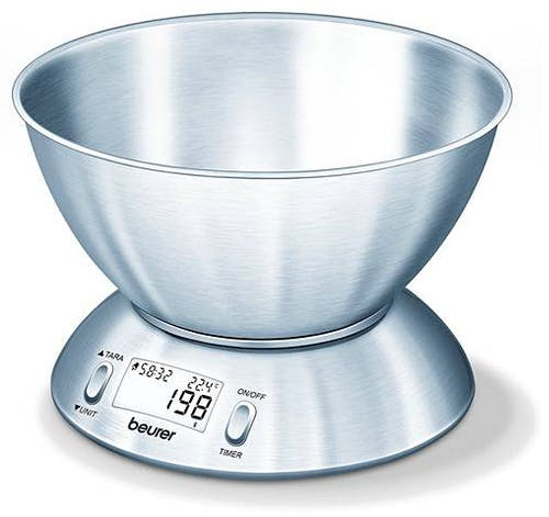 Beurer KS 54 Kitchen Scale With Bowl