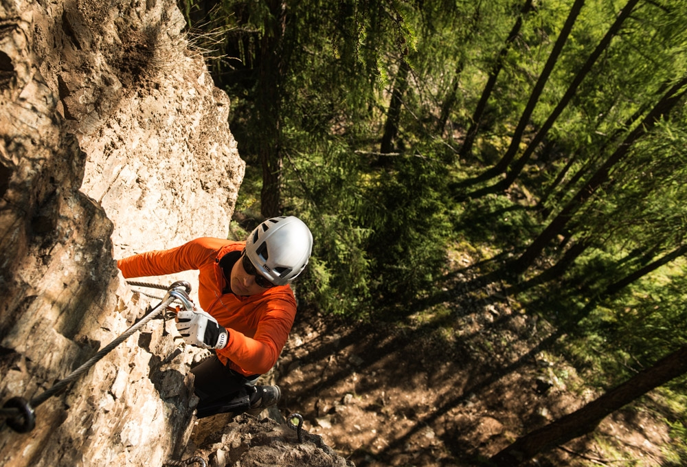 Klettersteigset Norm 2017 : Die neue norm für klettersteigsets