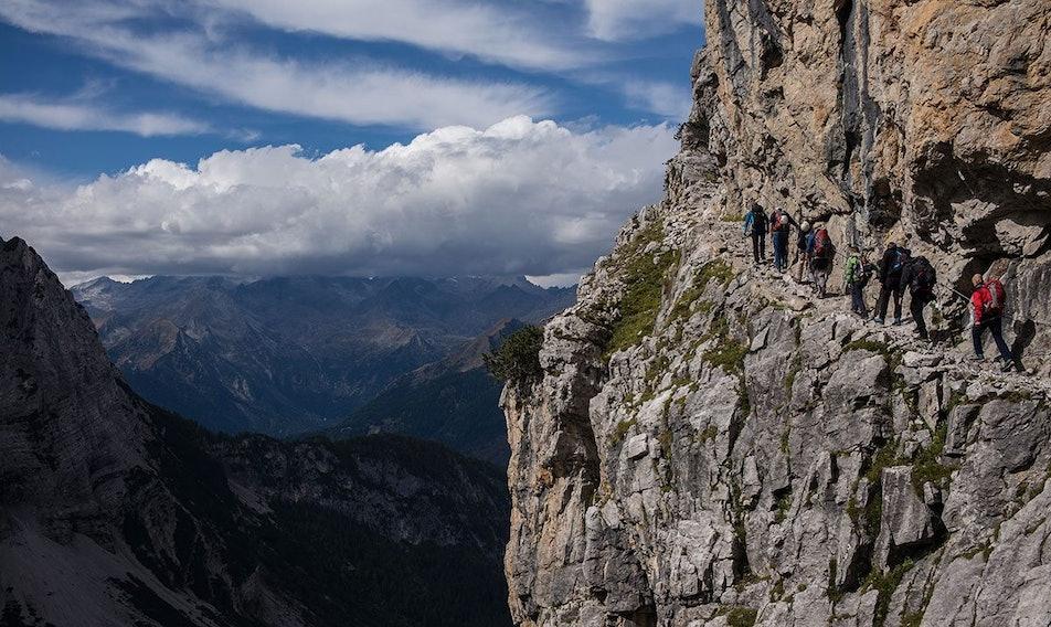Klettersteig Set Sale : Neue klettersteignorm was bringts?