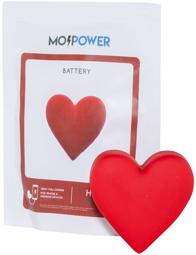 Mojipower, Heart Powerbank, Heart, Power Bank, Lodenfrey