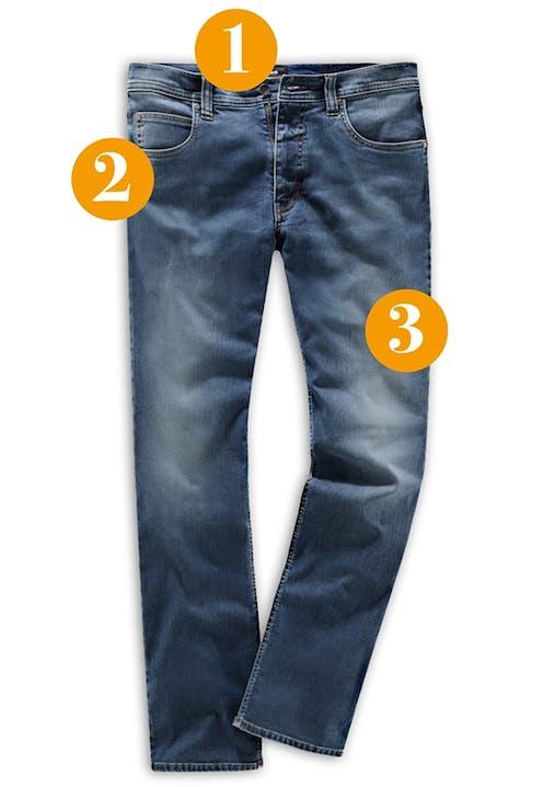 Herren-Jeans mit Thermoeffekt