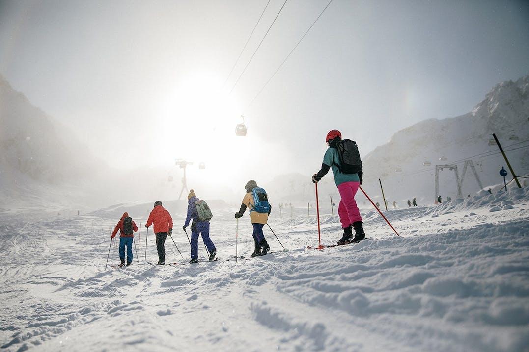 Skitour am Stubaier Gletscher