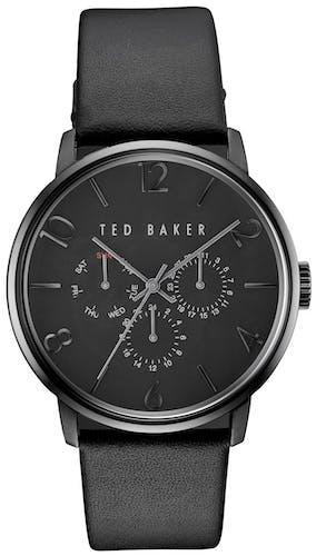 Cette montre TED BAKER se compose d'un Boîtier Rond de 42x47mm et d'un bracelet en Cuir Noir