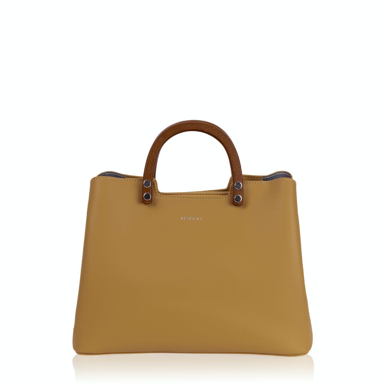 Handtasche - Intia - Leder-Optik