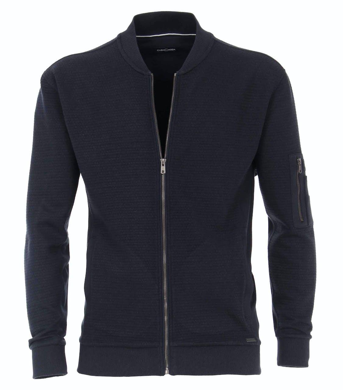 Sweatjacke - Regular Fit - Zipper