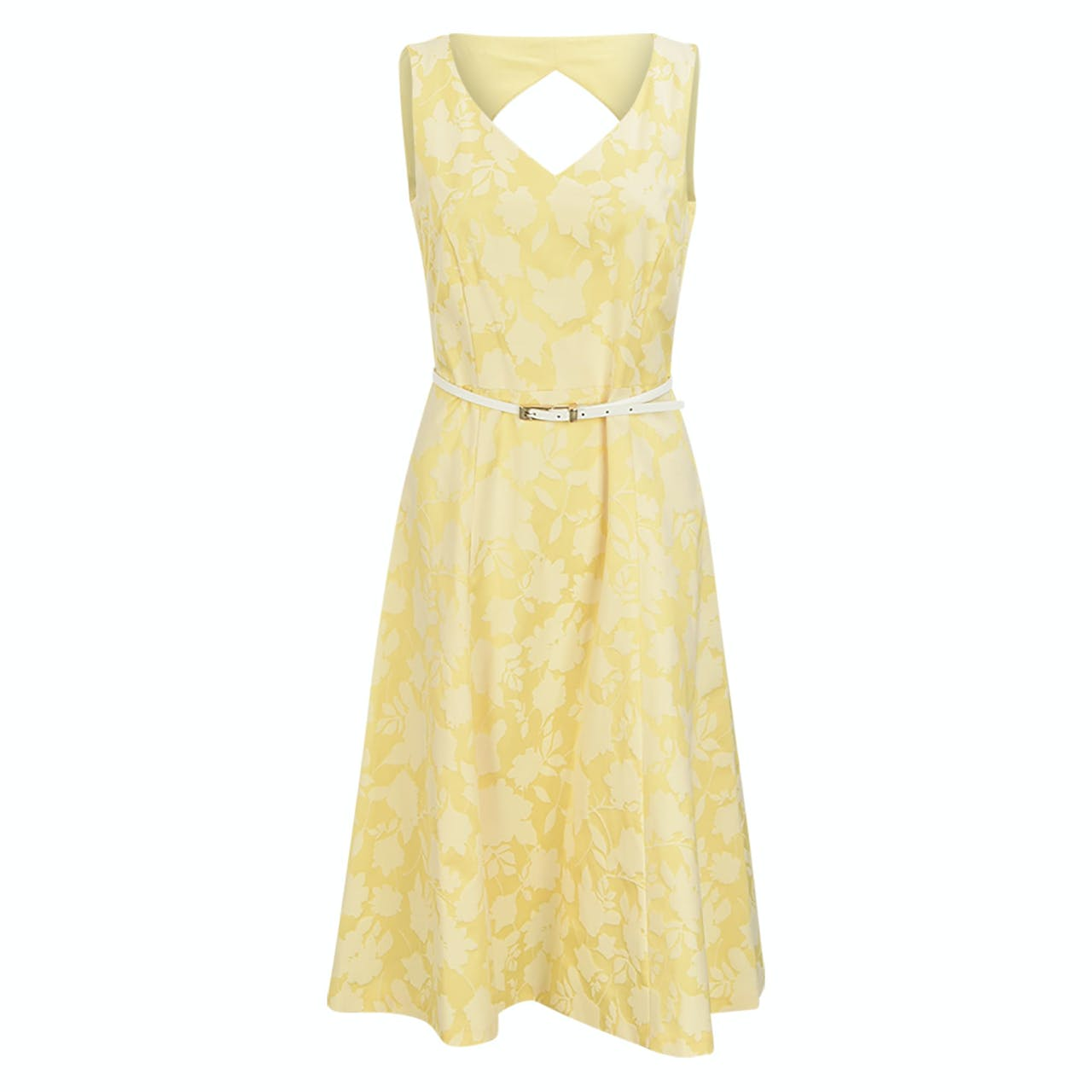 Kleid - Comfort Fit - ärmellos