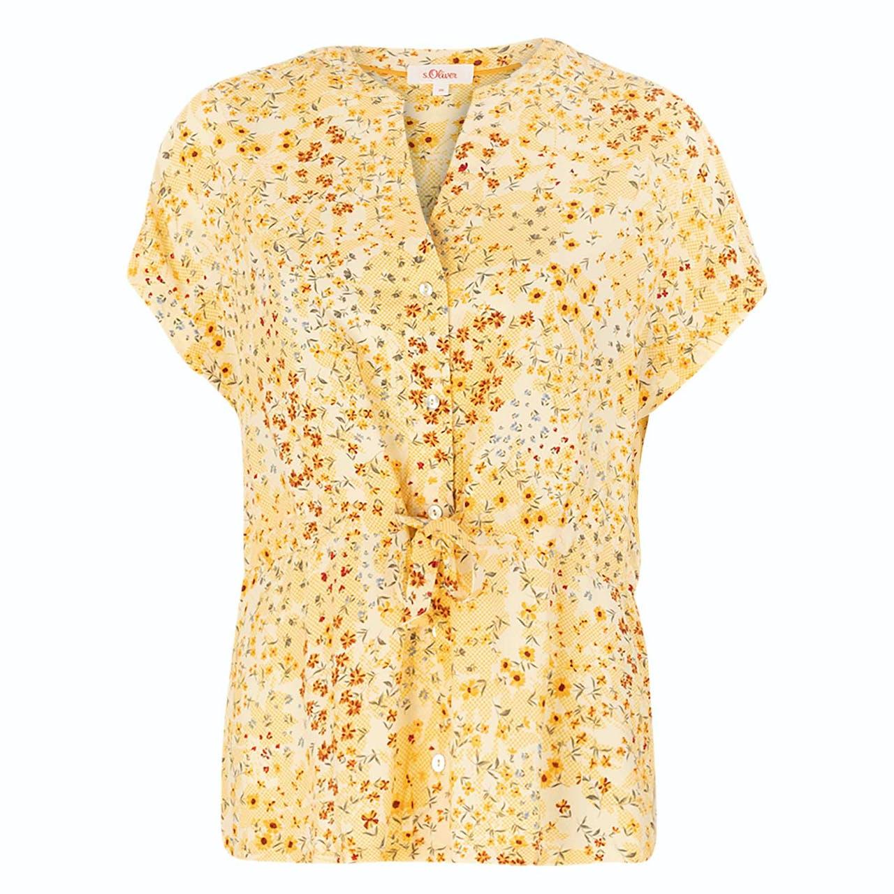 Bluse - Regular Fit - Print