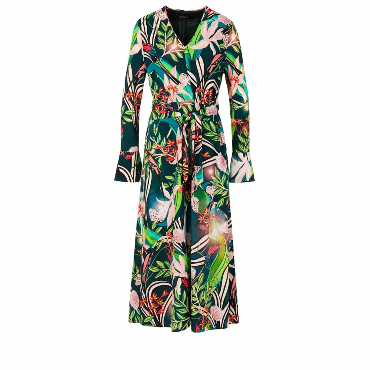 Kleid - fitted - Seiden-Mix