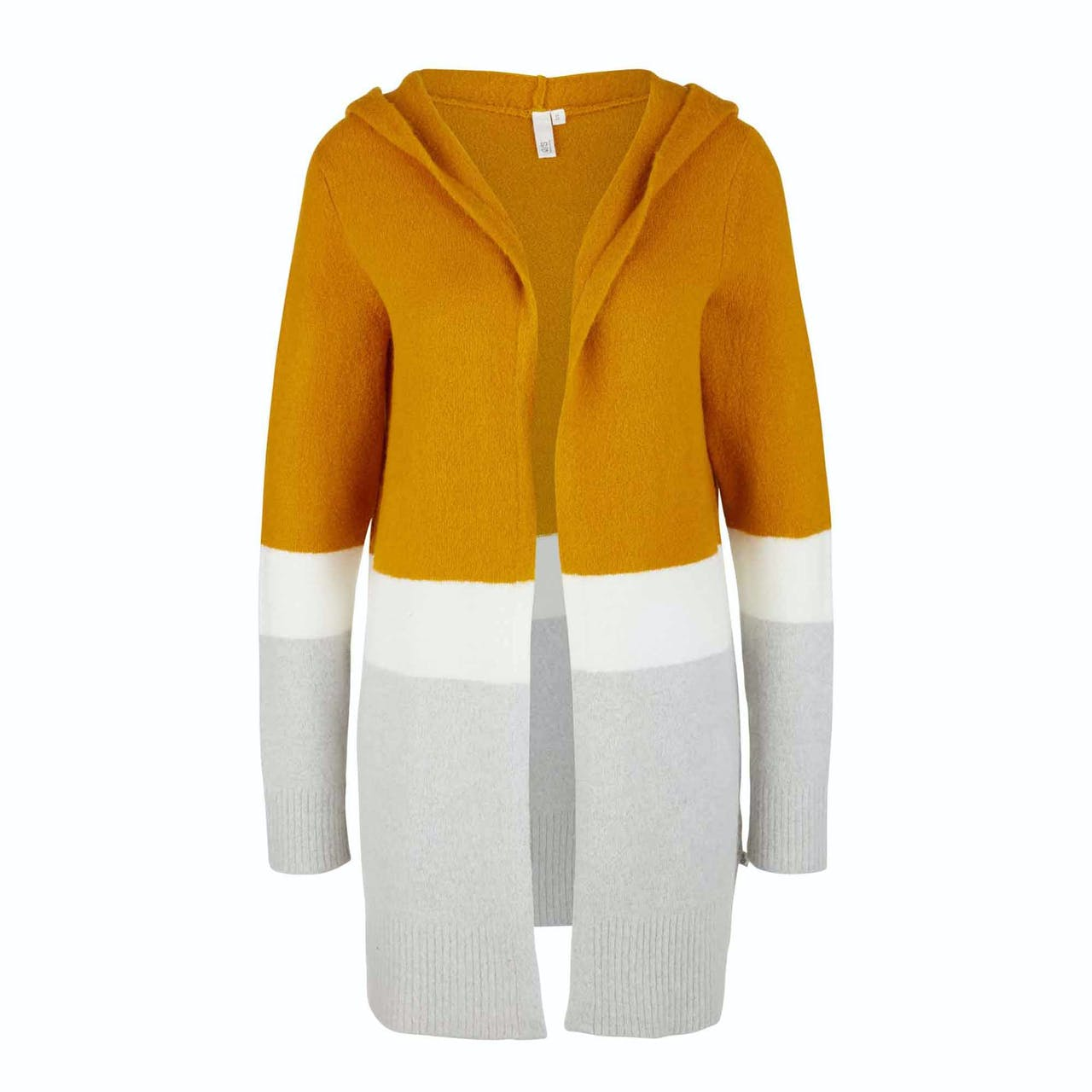 Strickjacke - Regular Fit - Colourblocking