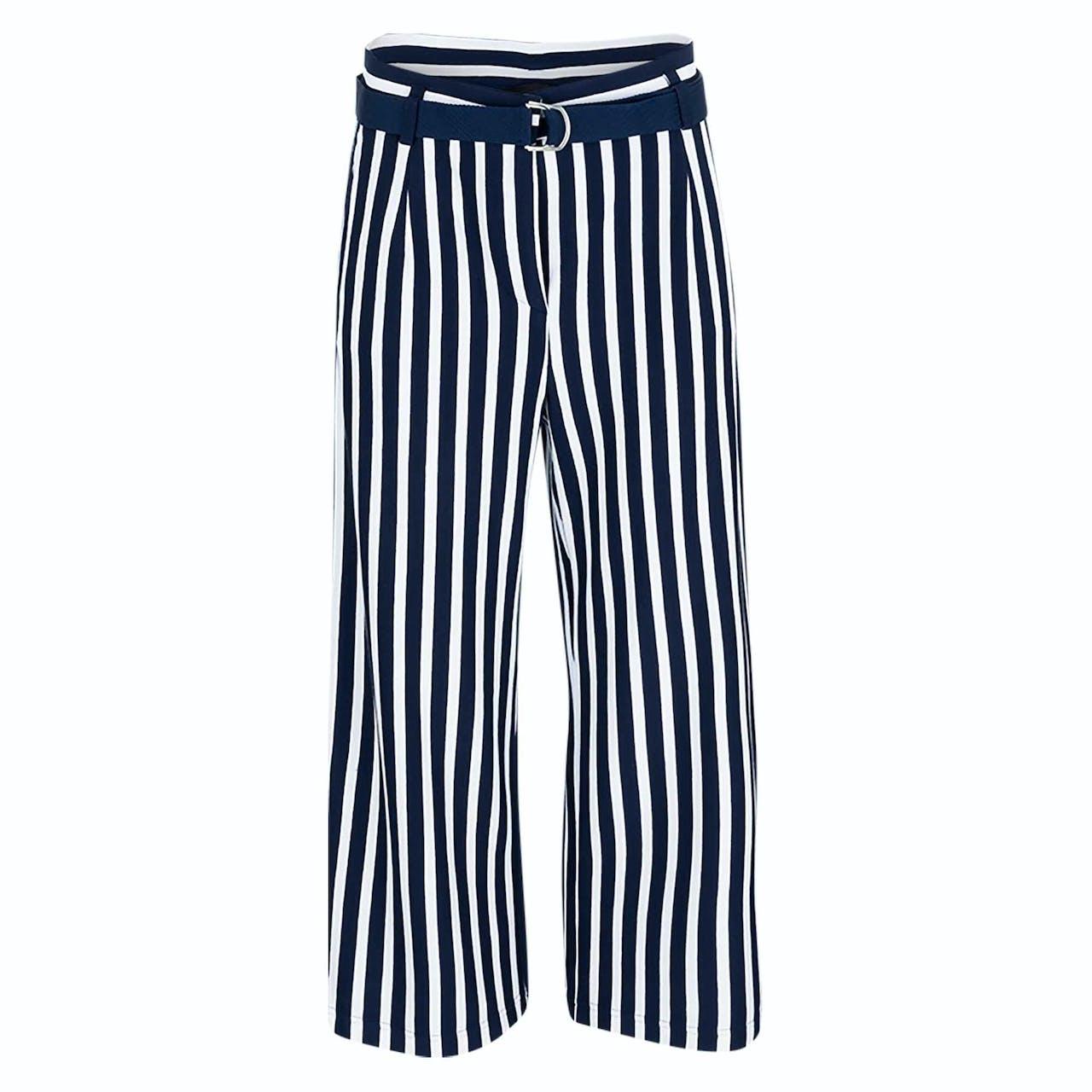 Culotte - Loose Fit - Stripes