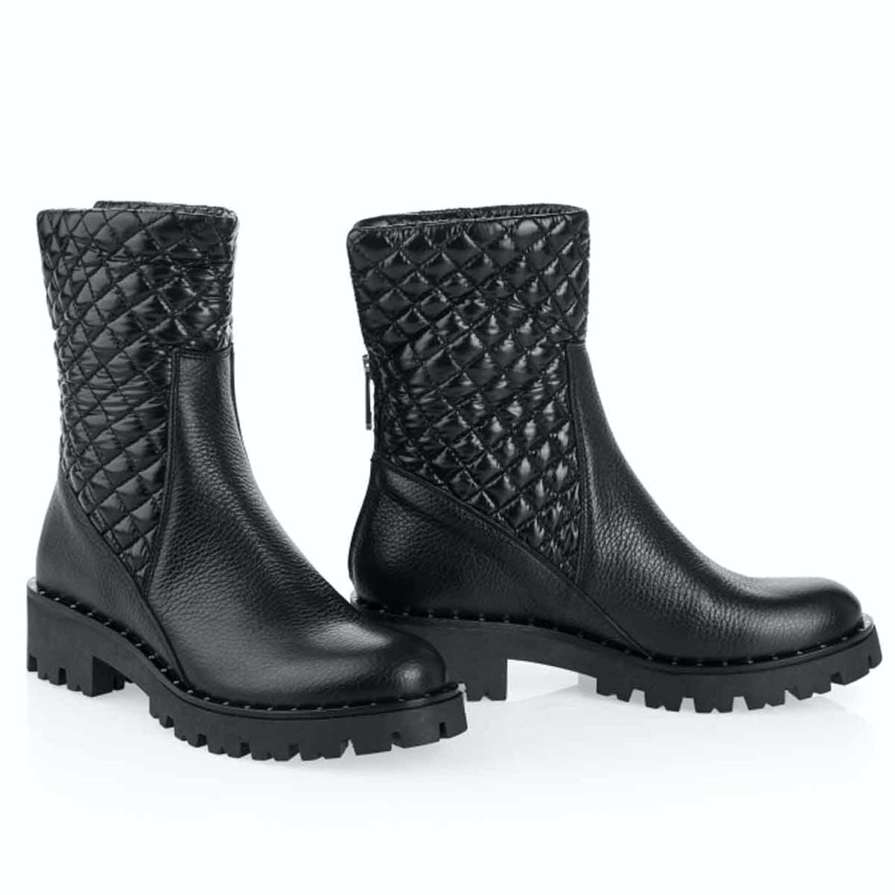 Boots - Leder-Mix
