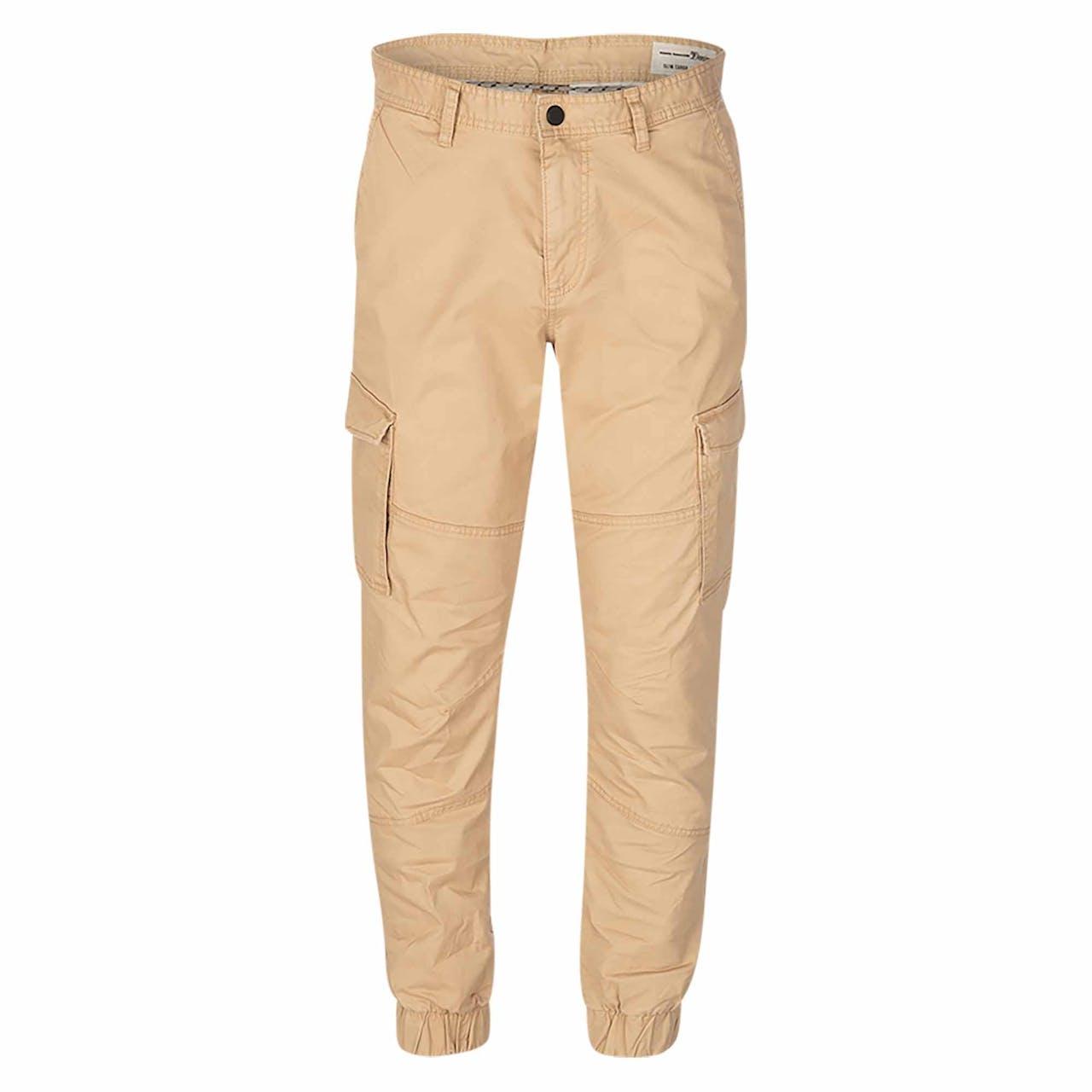 Cargohose - Slim Fit - Unifarben