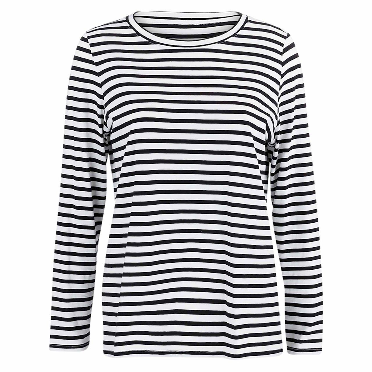 T-Shirt - Regular Fit - Ringel