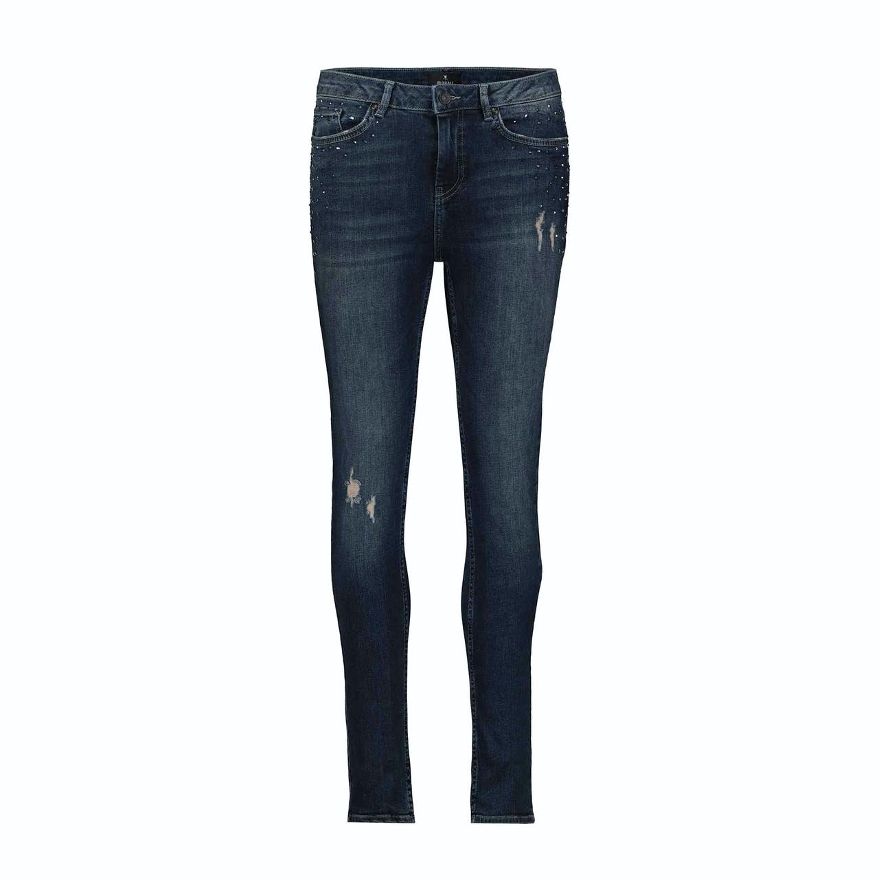 Jeans - Skinny Fit - Used-Look